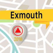 Exmouth 离线地图导航和指南 1