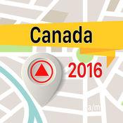 加拿大 离线地图导航和指南 1