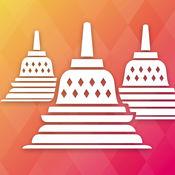 婆羅浮屠 神庙 中爪哇省 印度尼西亚 1.0.5