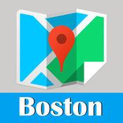 波士顿旅游指南地铁去哪儿美国地图 Boston MBTA T metro m