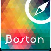 波士顿离线地图,指南,古迹,观光,酒店。。(Boston offline map)