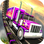 极端重型卡车驾驶 - 硬停车模拟器 1