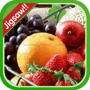 水果和蔬菜拼图游戏孩子的小孩 1