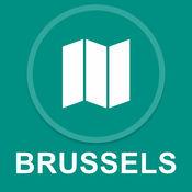 布鲁塞尔,比利时 : 离线GPS导航 1