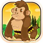 婴儿大猩猩香蕉扑灭 - 拍摄讨厌河马疯狂 FREE 1.2