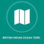 英属印度洋TERR。 : 离线GPS导航 1