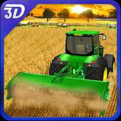 收获模拟器3D - 农用拖拉机机模拟游戏 1.0.3 (4)