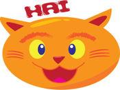 Birly Si Kucing Periang贴纸,设计 3.0.1