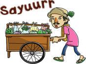 Mansyur Tukang Sayur贴纸,设计 3.0.1