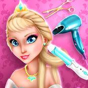 女孩游戏美发沙龙 – 公主发型: 髮型屋虚拟和美容院以時尚