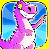 婴儿恐龙穴居人拉什 - 亨特从致命的生存寺 1.4