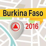 布基纳法索 离线地图导航和指南 1