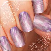 公主美甲沙龙&美容化妆游戏- 选择指甲的形状和长度并挑选肤