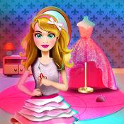 公主定制礼服沙龙: 做衣服的时装设计师游戏的女孩 1