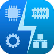 SYSTEM UTIL Dashboard : 电池, 内存, CPU, 磁盘, 网络, 通用
