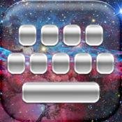 太空键盘免费 – 自定银河星星主题为iPhone美丽字体 1