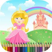 孩子們著色書公主 - 免費女孩繪圖 1.0.0