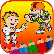 孩子着色页免费 - 运动宝贝第一句话 1.0.0