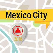 墨西哥城 离线地图导航和指南 1