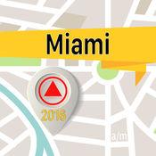 迈阿密 离线地图导航和指南 1