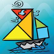 儿童七巧板益智拼图:船 3.6.3