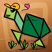 儿童七巧板益智拼图:野生动物 3.6.3