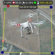 飞行计划 DJI Phantom 2 Vision + 4.5