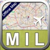 米兰 离线地图 (专业版) 2