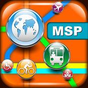 明尼阿波利斯(美国)地图 - 下载交通地图和旅游指南 4.7.1