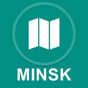 明斯克,白俄罗斯 : 离线GPS导航 1