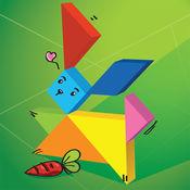 Swipea 儿童七巧板益智拼图:野生动物 3.6.3