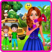 孩子们 学校 旅行 游戏 1