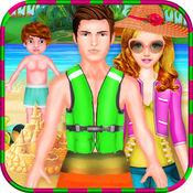 孩子们海边暑假 1