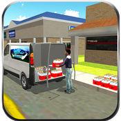 牛奶货运模拟器&面包车驾驶 1
