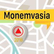Monemvasia 离线地图导航和指南 1