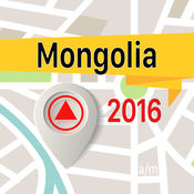 蒙古 离线地图导航和指南 1