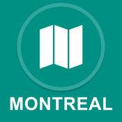 加拿大蒙特利尔 : 离线GPS导航 1