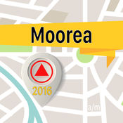 Moorea 离线地图导航和指南 1