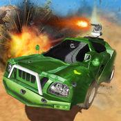 军事飞行汽车司机战斗:沙漠战争区域 1