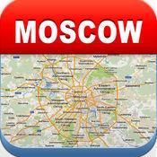 莫斯科离线地图 - 城市 地铁 机场 4.3