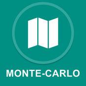 蒙特卡洛,摩纳哥 : 离线GPS导航 1