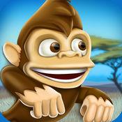 香蕉岛猴的乐趣...