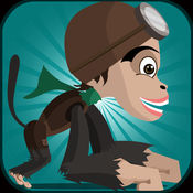 香蕉猴子运行 - 疯狂的蜘蛛跳爪牙乐趣拉什 2.1
