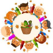 孩子大学 - 幼儿园教育幼儿园学习游戏 - 动物 - 数 1