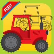 儿童汽车点到点,图画书 - 连接点着色页的学习游戏,任何年龄
