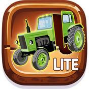 孩子车辆游戏 : 车与卡车益智 1