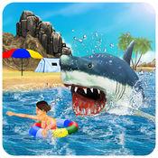 杀手鲨鱼袭击模拟器 - 一只饥饿的野兽海 1.0.1