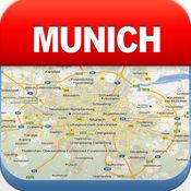 慕尼黑离线地图 - 城市 地铁 机场 4.3