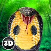 国王眼镜蛇蛇模...