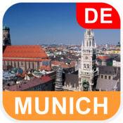 德国慕尼黑, 离线地图 - PLACE STARS v1.1